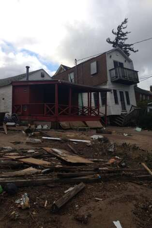 Fairfield PD photos of the damage caused when Sandy slammed into the East Coast Monday night.  See more of the photos on their Facebook page:https://www.facebook.com/media/set/?set=a.413160518737214.99679.379653075421292&type=1(Fairfield Police Dept.)