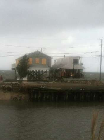 Fairfield PD photos of the damage caused when Sandy slammed into the East Coast Monday night.  See more of the photos on their Facebook page:https://www.facebook.com/media/set/?set=a.413160518737214.99679.379653075421292&type=1(Fairfield Police Dept.) Photo: Contributed Photo / Connecticut Post Contributed