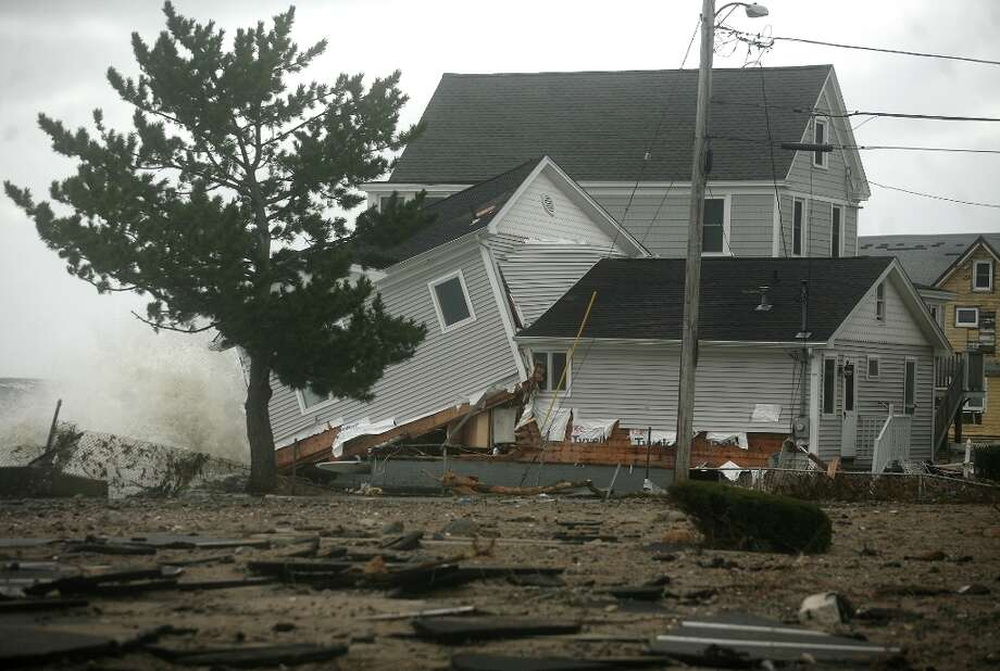 $20 billionDamage: Estimated property losses at $20 billion, ranking the storm among the most expensive U.S. disasters Photo: Brian A. Pounds / Connecticut Post
