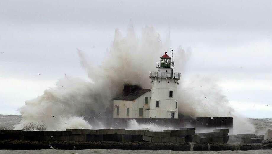 13.88 feetHighest storm surge. Photo: Tony Dejak
