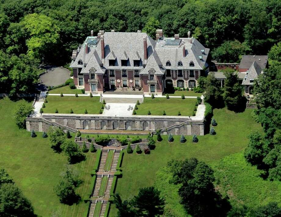 Blairsden Mansion in New Jersey: 31 bedrooms, 19 baths, 50,000 square feet asking $4.9 million.  An order of nuns had lived there and story goes that mother superior went cuckoo, turned to devil worship and killed off 25 of her fellow sisters. (TopTenRealEstateDeals.com)