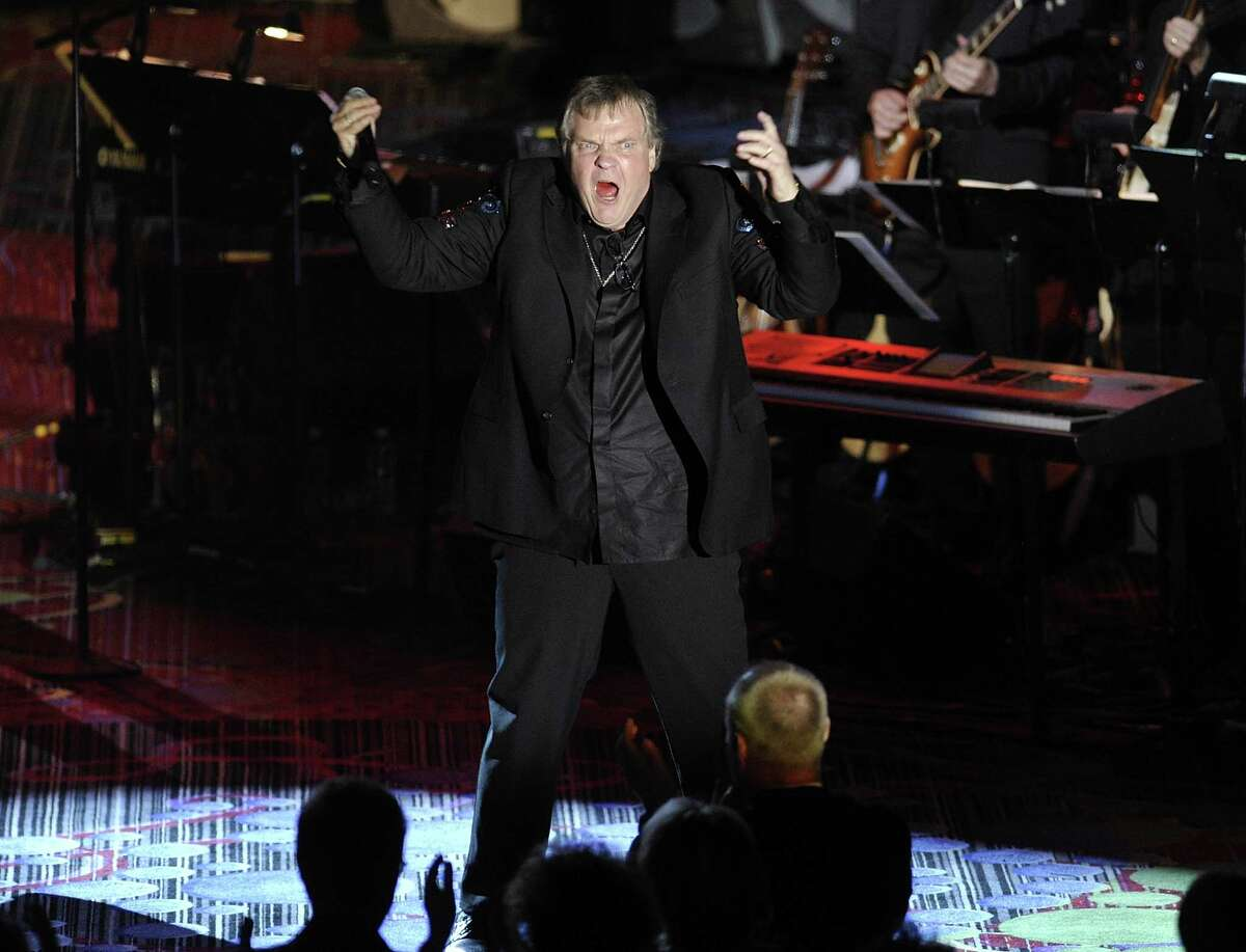 Singer Meat Loaf performs at the 2012 Songwriters Hall of Fame induction and awards gala at the Marriott Marquis Hotel, Thursday June 14, 2012 in New York. (Photo by Evan Agostini/Invision)