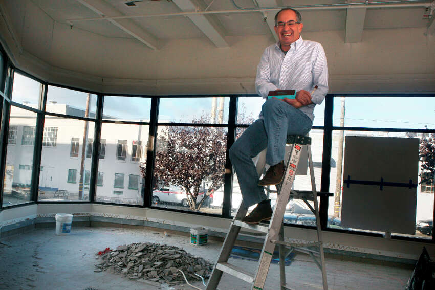 Candy maker Chuck Siegel in what will be his new retail space in San Francisco, Calif., on Wednesday, October 24, 2012.