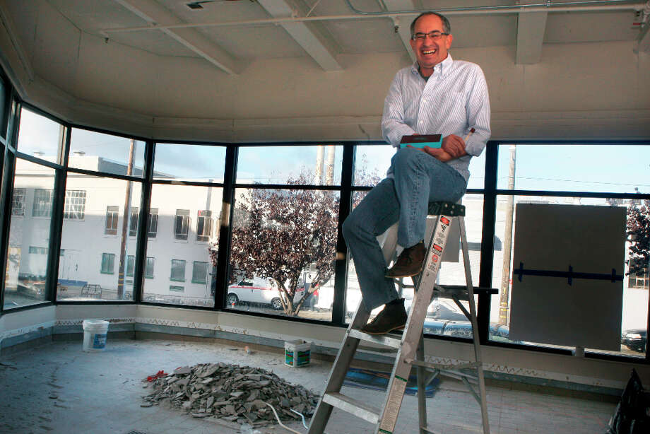 Candy maker Chuck Siegel in what will be his new retail space in San Francisco, Calif., on Wednesday, October 24, 2012. Photo: Liz Hafalia, The Chronicle / ONLINE_YES
