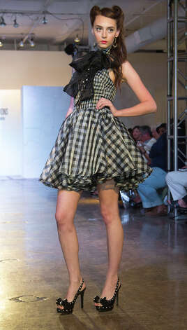 Ramirez's standout design was inspired by Dita Von Teese and Lucille Ball. Photo: J. MICHAEL SHORT, FREELANCER / THE SAN ANTONIO EXPRESS-NEWS