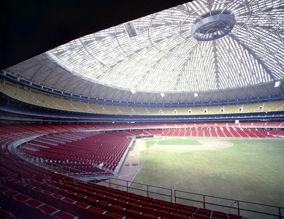 While it will cost an estimated $600 million to renovate the Astrodome, you could probably afford to rent it and throw the biggest party of all time.  Photo: Post File / Houston Chronicle Neg Scan
