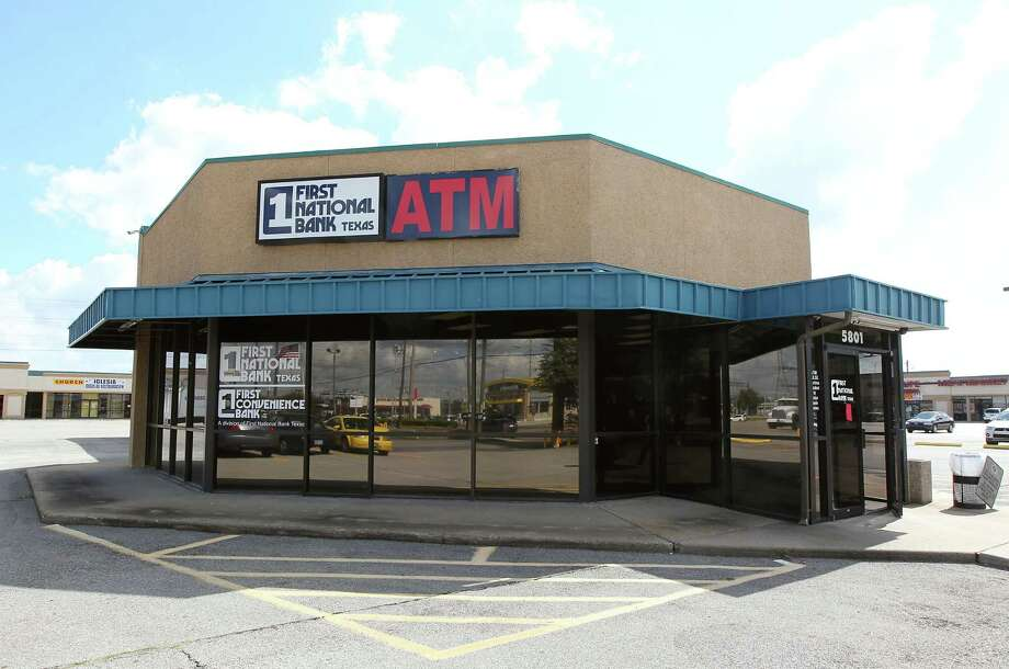 First Convenience Bank at 5801 South Gessner which was robbed ...