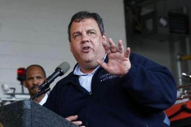 2012: New Jersey Gov. Chris Christie