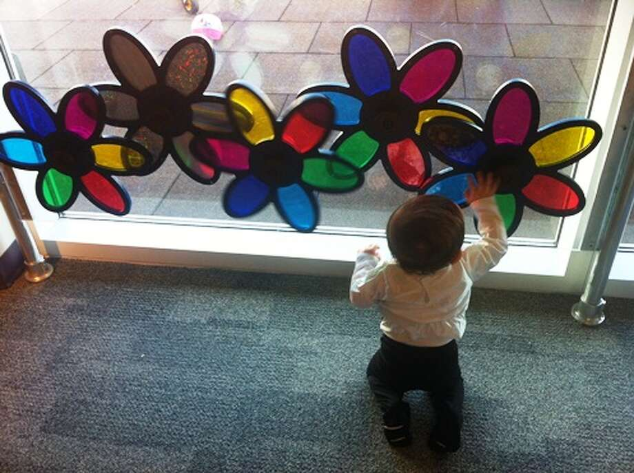 Flower power at the Children's Museum of Houston.