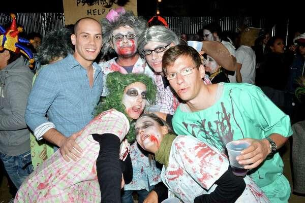 seensters halloween party in montrose