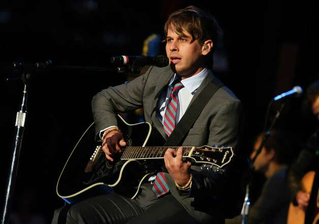 Mark Foster of Foster the People was kicked out of a private Prince concert last week because, in a display of extremely annoying concert behavior, he was using his cell phone during the show. He reportedly begged security guards to let him back in and was only allowed to enter after checking his cell phone. We think everyone at all concerts should be subject to this rule.  Photo: Barry Brecheisen, Associated Press / Invision