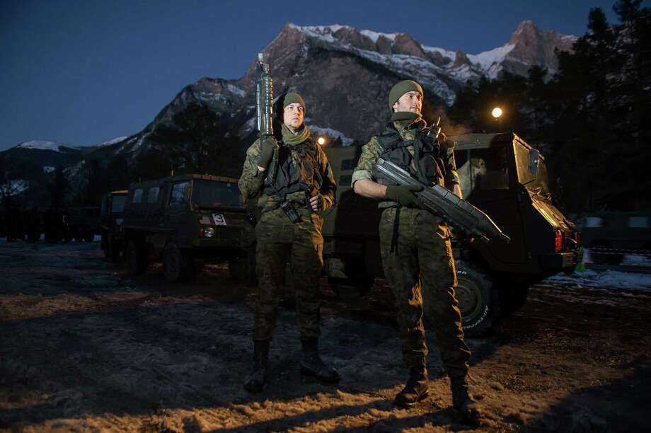 Participants patrol during the HALO 4 launch by Xbox 360 on October 30, 2012 in Balzers, Liechtenstein. Photo: Ian Gavan, Getty Images For Halo By Xbox 36 / 2012 Getty Images