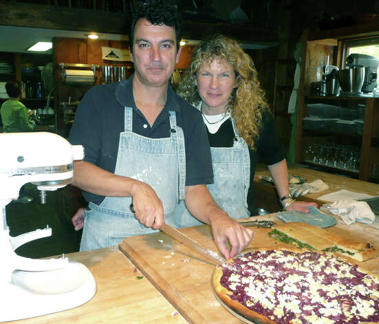 Chef Daniel Rosati and Silo cooking school assistant director Nancy stuart have offered their services for patrons of The Silo for about 25 years.  Courtesy of The Silo Photo: Contributed Photo
