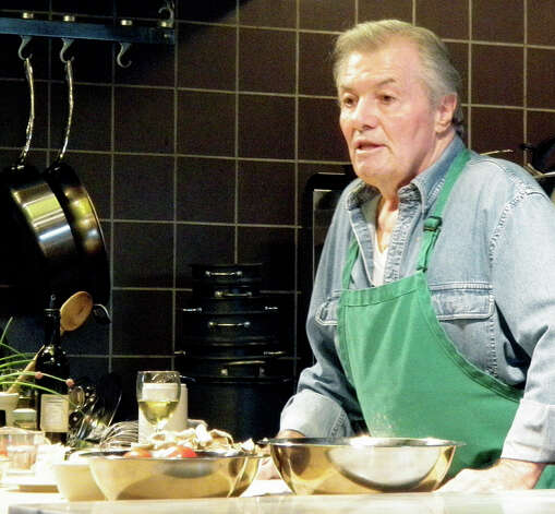 Chef Jacques Pepin graced The Silo in May 2012 for a guest appearance at the cooking school.         Courtesy of The Silo Photo: Contributed Photo
