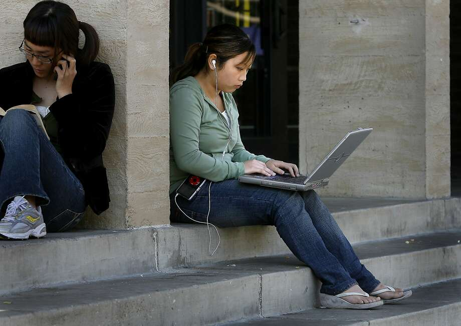 UC Berkeley officials have alerted 80,000 current and former students and employees that someone hacked into the campus financial system and they should check if their Social Security numbers and bank account numbers have been stolen.  {Brant Ward/San Francisco Chronicle} Photo: Brant Ward, SFC