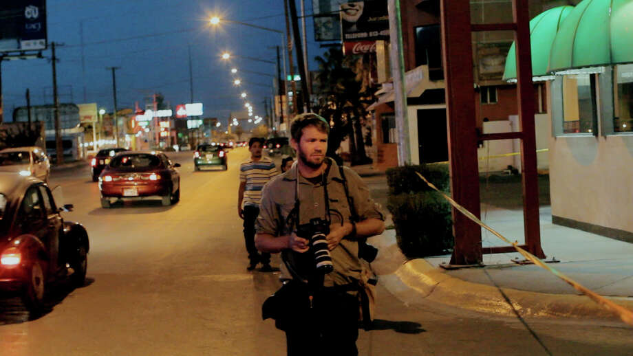 "Eros Hoagland is one of the photojournalists profiled in ""Witness."" Photo: HBO"