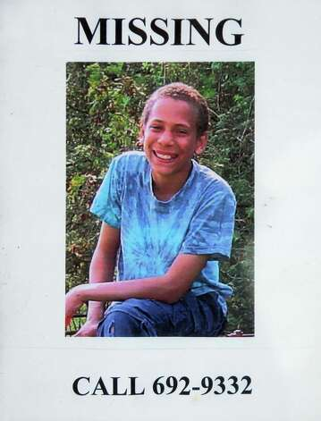 Missing poster for Jaliek Rainwalker in Greenwich, N.Y., Wednesday Dec. 19, 2007. Photo: John Carl D'Annibale / Albany Times Union