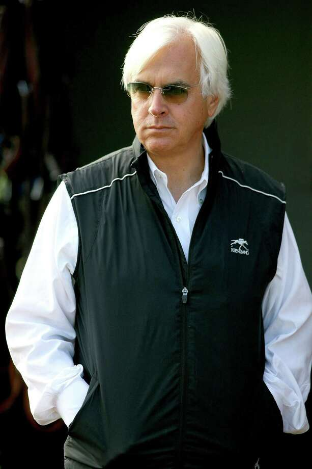 Trainer Bob Baffert has slimmed down after suffering a heart attack in March. Photo: Matthew Stockman, Staff / Getty Images North America