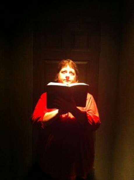 """Lisa Valle plays a religion-obsessed mother in Proxy Theatre Co.'s """"End of Days."""" Photo: Courtesy, Proxy Theatre Co."""
