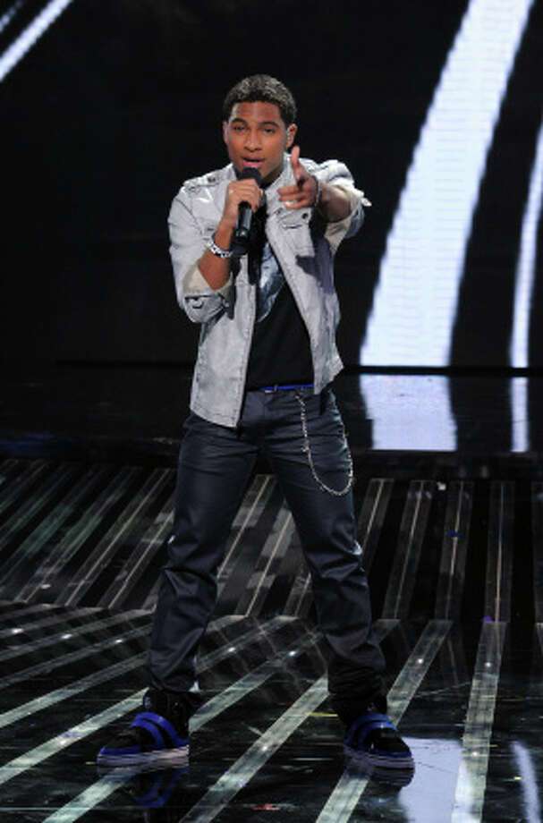 THE X FACTOR: TOP 16:  Arin Ray performs live on THE X FACTOR, Wednesday, October 31 (8:00-10:00 PM ET/PT) on FOX. CR: Ray Mickshaw / FOX.