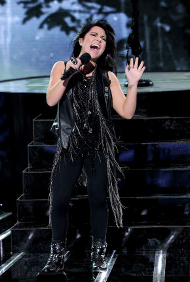 THE X FACTOR: TOP 16:  Jennel Garcia performs live on THE X FACTOR, Wednesday, October 31 (8:00-10:00 PM ET/PT) on FOX. CR: Ray Mickshaw / FOX.
