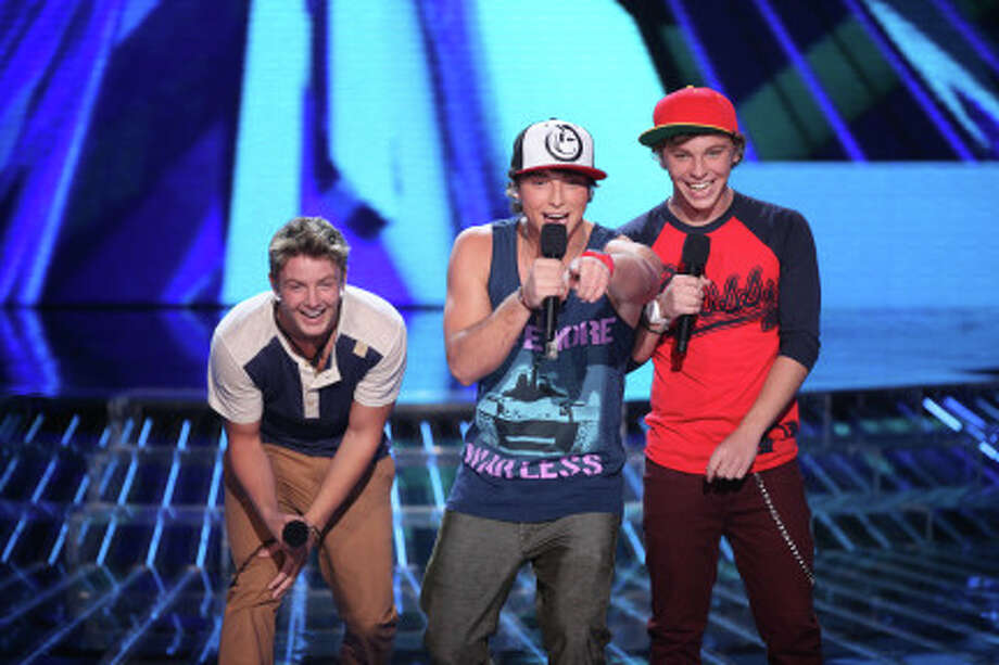 THE X FACTOR: TOP 16: Emblem3 performs live on THE X FACTOR, Wednesday, October 31 (8:00-10:00 PM ET/PT) on FOX. CR: Ray Mickshaw / FOX.