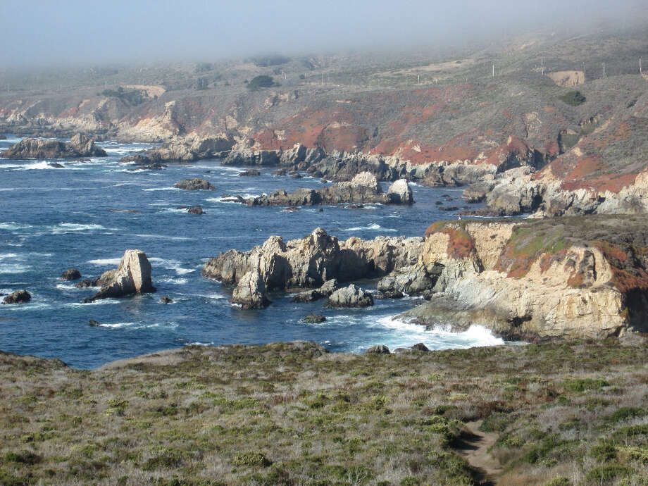 The cove tucked inside Soberanes Point. There's also a small, pretty beach. (Tom Stienstra/The Chronicle)