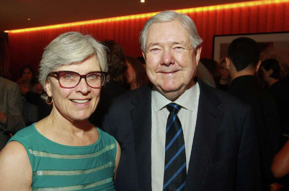 """Mary Lake Bennack and Frank A. Bennack, Jr., Hearst Corp. CEO, at Hearst's special screening of """"Citizen Hearst: The Story of A Modern Media Company 125 Years in the Making"""" at the Asia Society Texas Center on Oct. 31. Photo: Gary Fountain, Freelance / Freelance"""