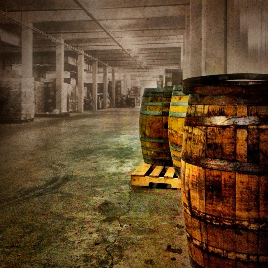 The Saint Arnold barrel room is on the third floor of the 2000 Lyons brewery. (Joey Garcia / Saint Arnold publicity photo)