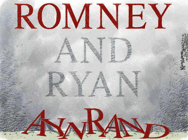 Oct.31, 2012: A vote for Romney and Ryan is a vote for…  Photo: Nick Anderson