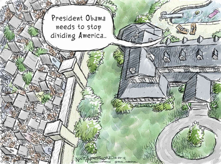 Oct. 25, 2012: American Divided Photo: Nick Anderson