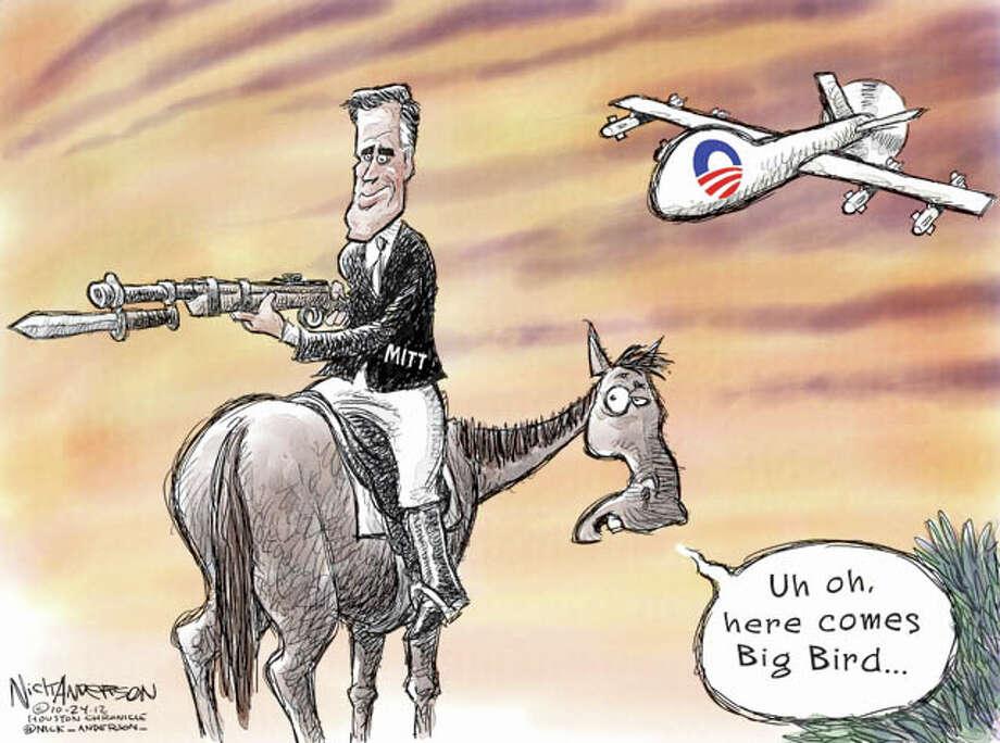 Oct. 23, 2012:Horses and Bayonets Photo: Nick Anderson