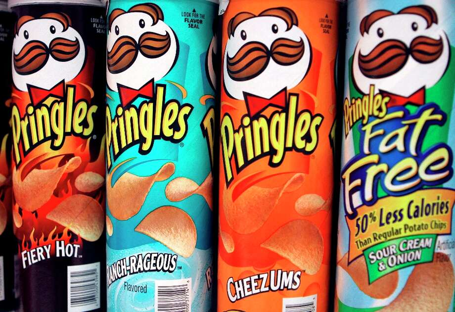"The Pringles guy shows an example of an English mustache.AMI definition: ""A narrow divided mustache that begins at the middle of the upper lip, with long whiskers pulled to either side of the center. The areas beyond the corners of the mouth are typically shaved."" Photo: MARK LENNIHAN, AP / 2005 AP"