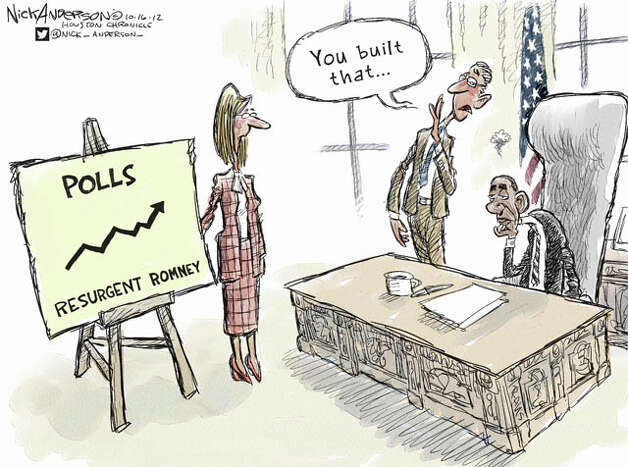 Oct. 16, 2012: Romney Resurgence Photo: Nick Anderson