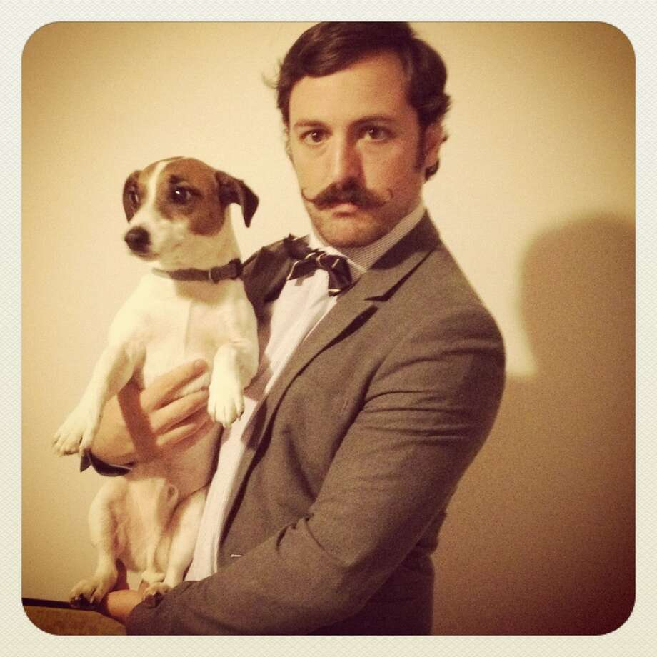 """The American Mustache Institute has named Adam Paul Causgrove, of Pennsylvania as the """"Mustached American of the Year."""""""