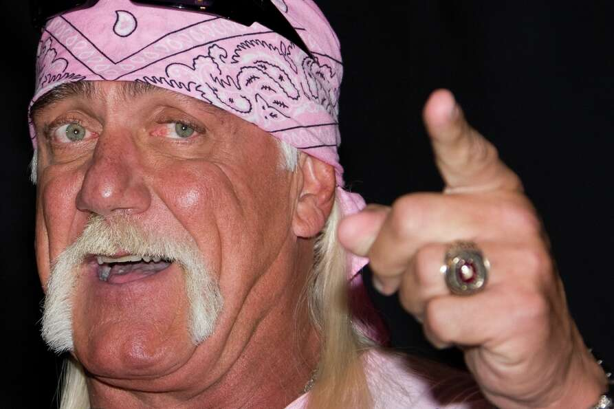 "Hulk Hogan has long been known for his horse shoe mustache, a/k/a ""the poor man's fu manchu.&qu"