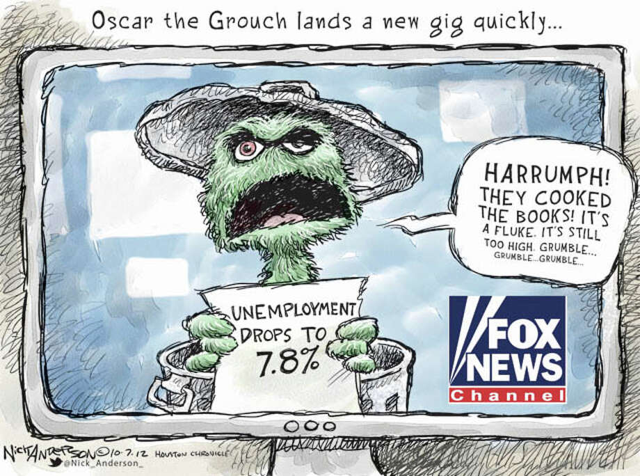 Oct. 5, 2012: Grouchy Photo: Nick Anderson