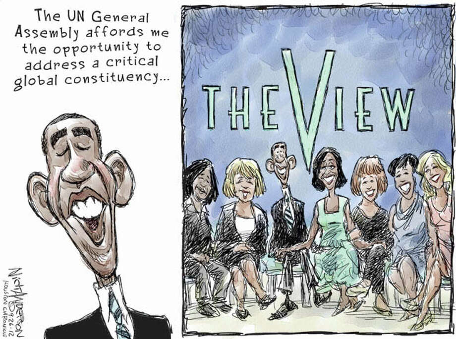 Sept. 26, 2012: Global constituency Photo: Nick Anderson
