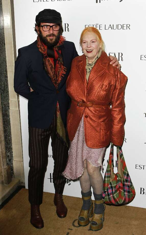 Andreas Kronthaler and Vivienne Westwood attend the Harper's Bazaar Woman of the Year Awards at Claridge's Hotel on October 31, 2012 in London, England. Photo: Fred Duval, Getty Images / 2012 Getty Images