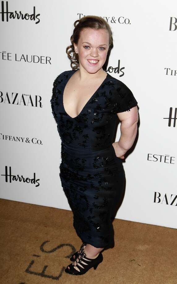 Ellie Simmonds attends the Harper's Bazaar Woman of the Year Awards at Claridge's Hotel on October 31, 2012 in London, England. Photo: Fred Duval, Getty Images / 2012 Getty Images