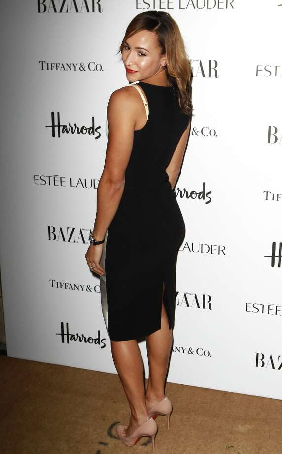 Jessica Ennis attends the Harper's Bazaar Woman of the Year Awards at Claridge's Hotel on October 31, 2012 in London, England. Photo: Fred Duval, Getty Images / 2012 Getty Images