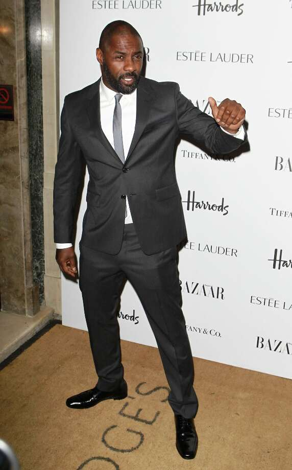 Idris Elba attends the Harper's Bazaar Woman of the Year Awards at Claridge's Hotel on October 31, 2012 in London, England. Photo: Fred Duval, Getty Images / 2012 Getty Images