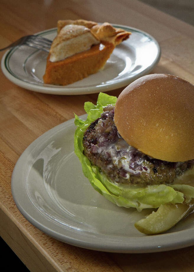The Lardo Burger Photo: John Storey, Special To The Chronicle / ONLINE_Yes