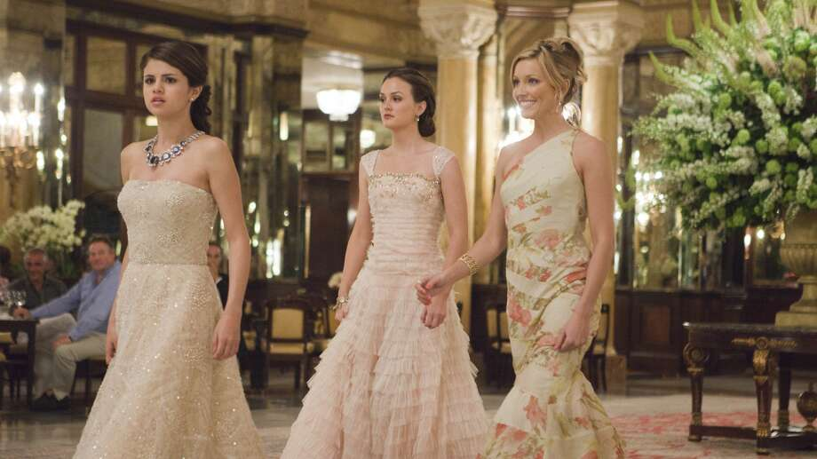 "In the 2011 film ""Monte   Carlo,"" Grace (Selena Gomez, left), Meg (Leighton Meester, center) and Emma (Katie Cassidy) live like royalty during their very special vacation. The film portrays three young women vacationing in Paris who find themselves whisked away to Monte Carlo after one of the girls is mistaken for a British heiress. Photo: Larry Horricks, Houston Chronicle"