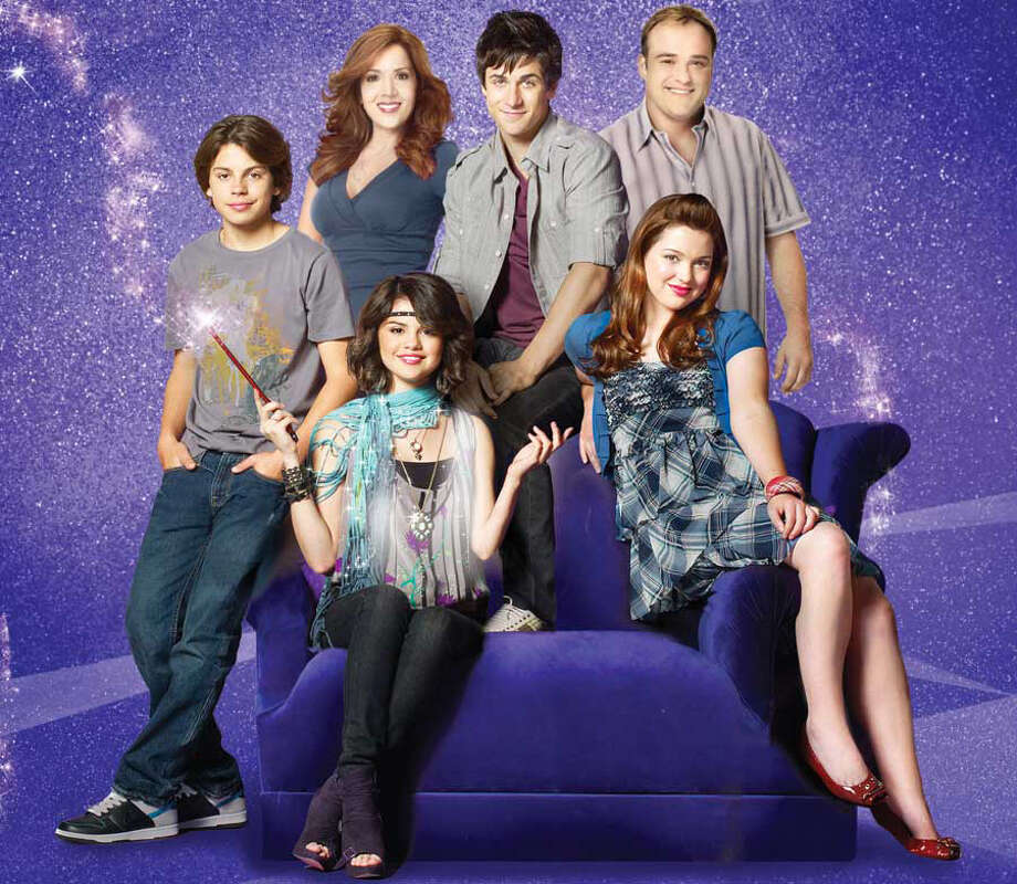 "Disney Channel original movie based on the series ""Wizards of Waverly Place"" stars David DeLuise as Jerry Russo, Jake T. Austin as Max Russo, Selena Gomez as Alex Russo, David Henrie as Justin Russo and Maria Canals-Barrera as Theresa Russo. Photo: BOB D'AMICO/DISNEY CHANNEL, MCT / MCT"
