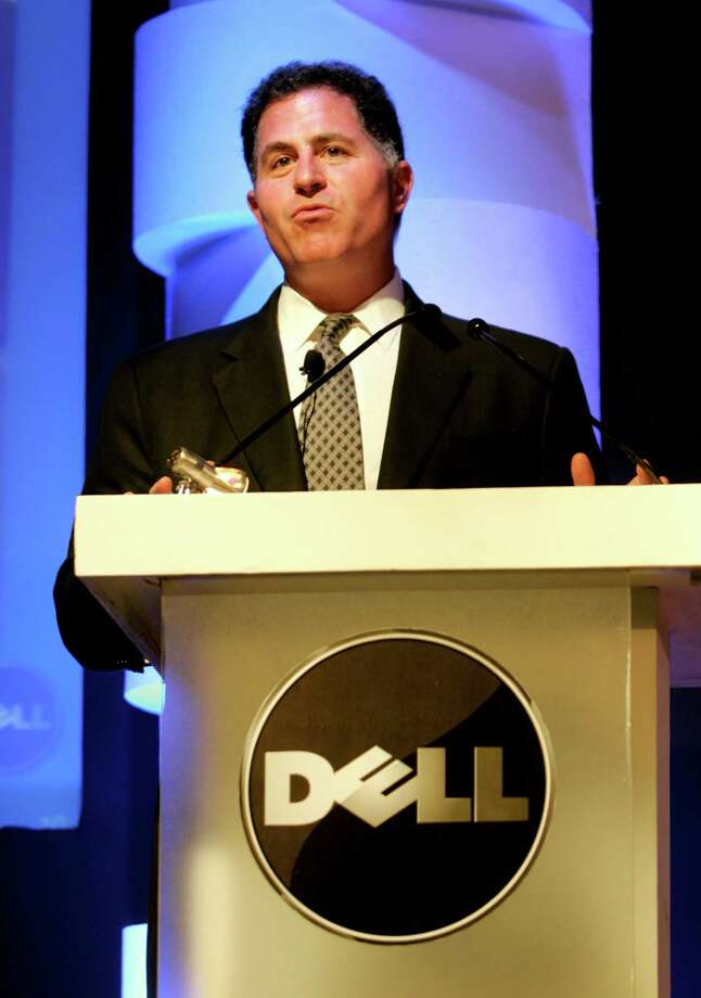 Houston's Michael Dell of Dell computer helped make the personal computer affordable. Dell's headquarters are located in Round Rock.  Photo: Manish Swarup, AP / AP