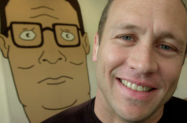 "Mike Judge, who also directed ""Office Space"", made ""King of the Hill"" based on his experience living in Texas.  Photo: RIC FRANCIS, AP / AP"