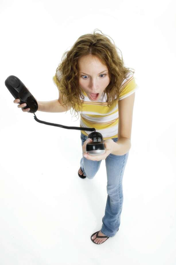 Annoying voters on the phone is dumb. (Fotolia.com) Photo: Jaimie Duplass / Jaimie Duplass