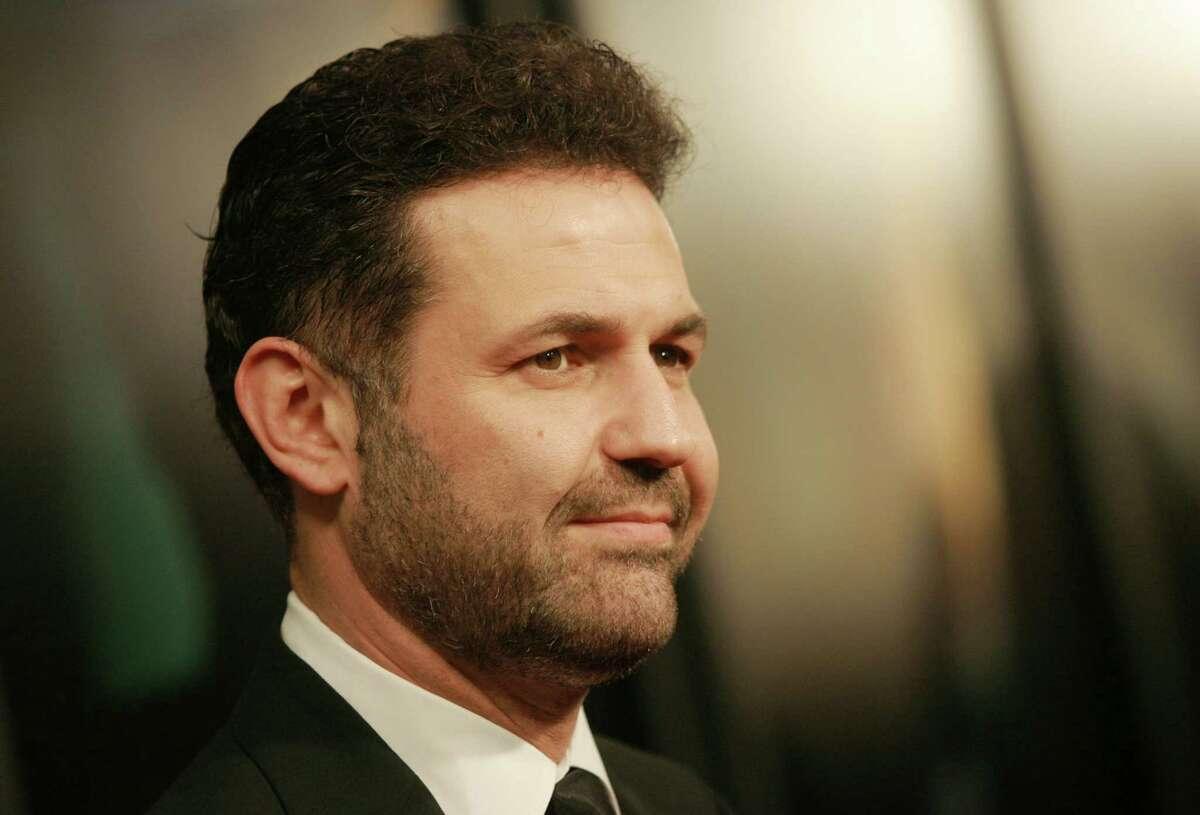 FILE - This Dec. 10, 2007 file photo shows author Khaled Hosseini at the