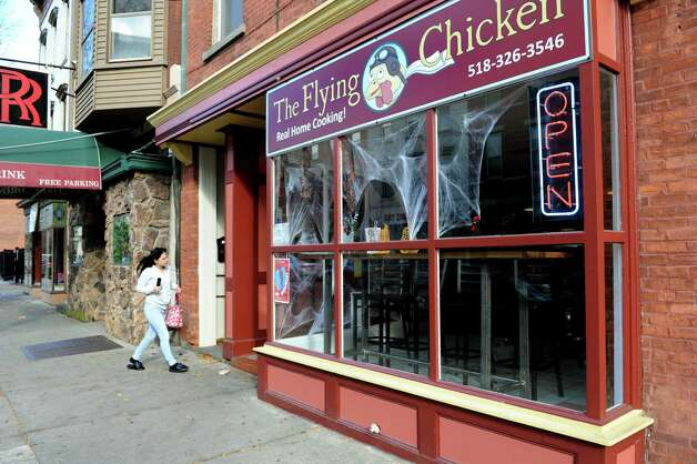 The Flying Chicken  on Tuesday, Oct. 30, 2012, in Troy, N.Y. (Cindy Schultz / Times Union) Photo: Cindy Schultz / 10019884A
